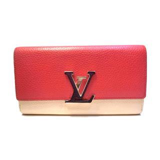 LOUIS VUITTON〈ルイヴィトン〉Portefeuille Capcine long wallet