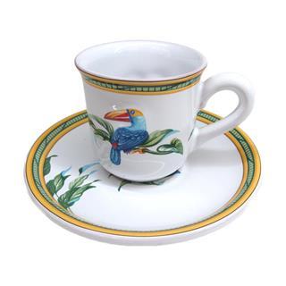 HERMES〈エルメス〉Toukan Mustie Cup & Saucer