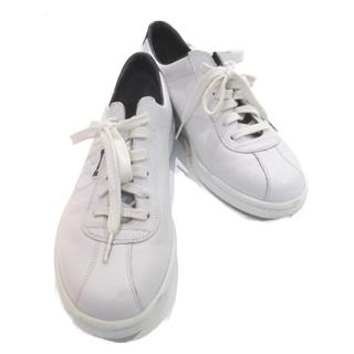 CHANEL〈シャネル〉sneakers shoes flats lace-up #39.5