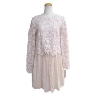 Chloe〈クロエ〉one piece dress long sleeves tunic #36