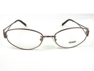 FENDI 〈フェンディ〉 Designer Eyeglass Tortoise Frames Prescription Glasses