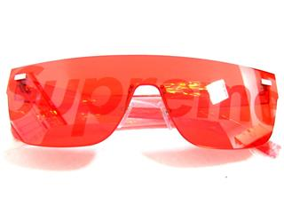LOUIS VUITTON 〈ルイヴィトン〉 RED Logo City Mask Sunglasses Limited Edition Supreme