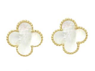 Van Cleef & Arpels〈ヴァンクリーフ&アーペル〉Vintage Alhambra Earrings