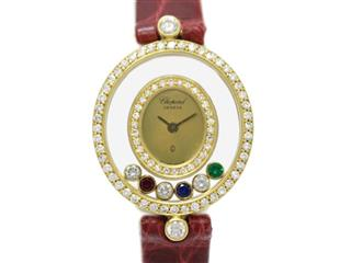 Chopard 〈ショパール〉 Happy Diamond Ladies Watch Wrist Watch