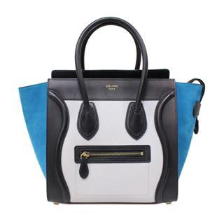 CELINE〈セリーヌ〉Mini luggage hand tote bag