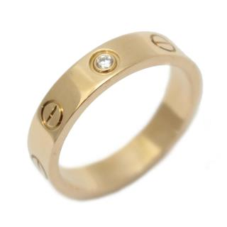 Cartier 〈カルティエ〉 Mini Love Ring 1P Diamond