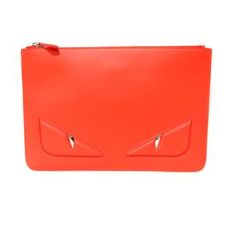 FENDI 〈フェンディ〉 Small monster clutch bag