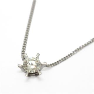JEWELRY 〈ジュエリー〉 Single diamond necklace
