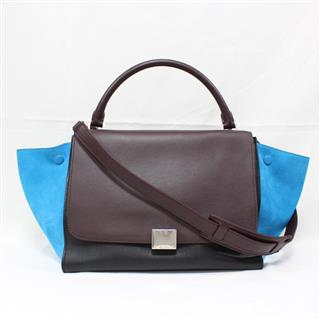 CELINE 〈セリーヌ〉 Trapeze 2way shoulder hand bag