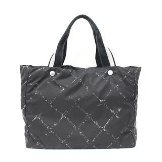 CHANEL〈シャネル〉Travel Line MM Tote Hand Bag