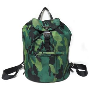 PRADA 〈プラダ〉 TESSUTO CAMOUFL Rucksack Backpack Bag