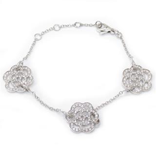 CHANEL〈シャネル〉Camelia diamond bracelet