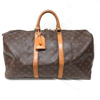 LOUIS VUITTON〈ルイヴィトン〉Keepall 50 Travel Boston Hand Bag