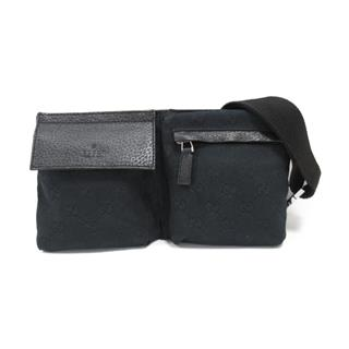GUCCI 〈グッチ〉 GG canvas waist crossbody bag
