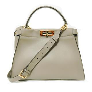 FENDI〈フェンディ〉Pee ka boo 2WAY shoulder crossbody hand bag
