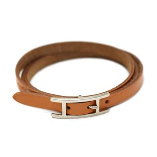 HERMES 〈エルメス〉 Hapi III Leather Bracelet