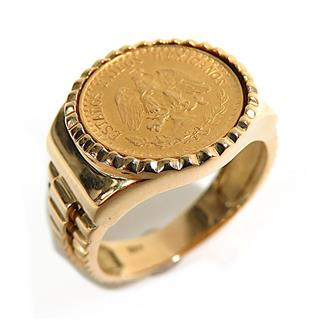 JEWELRY 〈ジュエリー〉 2 peso coin ring ring
