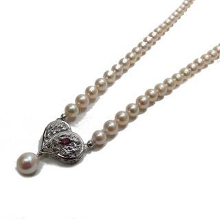 JEWELRY 〈ジュエリー〉 Pearl necklace