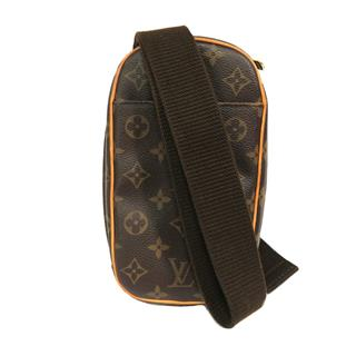 LOUIS VUITTON 〈ルイヴィトン〉 Pochette Gange Waist Body Shoulder crossbody Bag