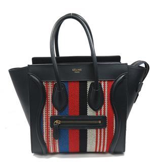 CELINE〈セリーヌ〉Luggage micro shopper handbag