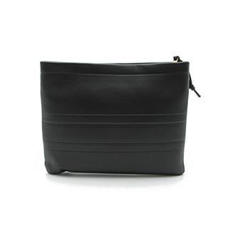 Dior〈クリスチャン・ディオール〉Striped pouch clutch second bag