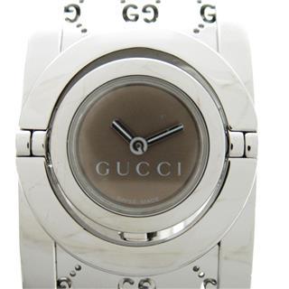 GUCCI〈グッチ〉Twirl bangle wrist watch montre