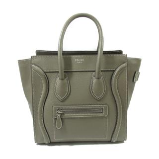 CELINE 〈セリーヌ〉 Luggage micro shopper handbag