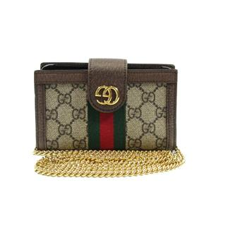 GUCCI 〈グッチ〉 Ophdia smartphone case X  XS case crossbody chain purse