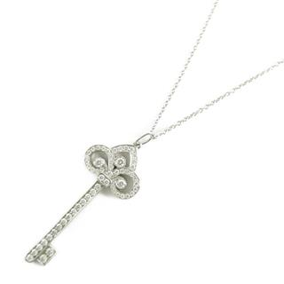 TIFFANY&CO 〈ティファニー〉 fleur de lis key Diamond Necklace