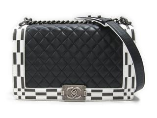 CHANEL 〈シャネル〉 Boy Chanel W Chain Shoulder Bag