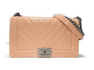 CHANEL〈シャネル〉Boy Chanel W Chain Shoulder Bag
