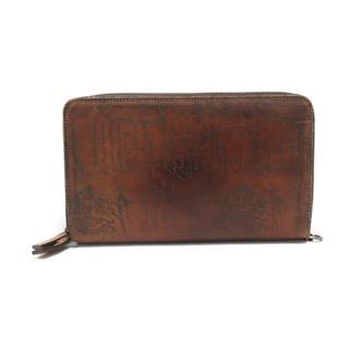 Berluti〈ベルルッティ〉Calligraphy Tineo 2 Travel Case zippy wallet