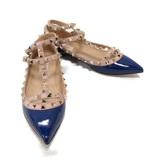 VALENTINO〈ヴァレンチノ〉Mules studs sandals shoes #37.5 ladies