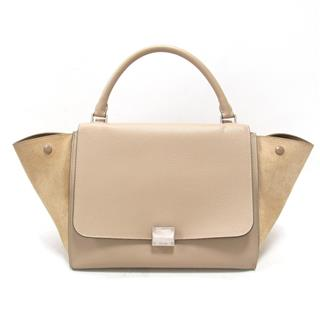 Trapeze 2way hand shoulder bag