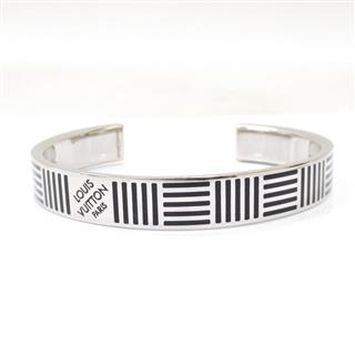 LOUIS VUITTON 〈ルイヴィトン〉 Cuff Damier Black Bangle