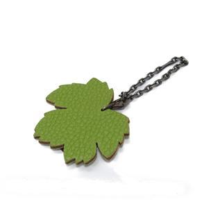 HERMES〈エルメス〉Leaf key ring key chain Bag charm