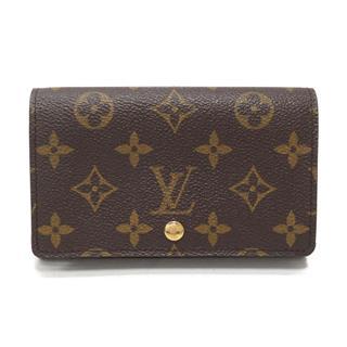 LOUIS VUITTON〈ルイヴィトン〉Porte Monnaie Billet Tresor Wallet