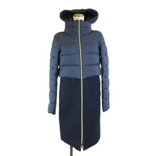 HERNO〈ヘルノ〉Wool feather down coat