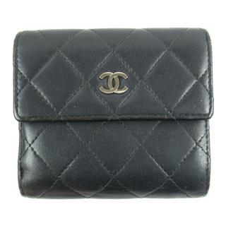 CHANEL〈シャネル〉Matelasse W hook wallet bi-fold wallet