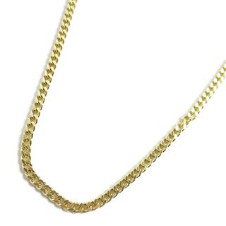 JEWELRY〈ジュエリー〉2 side flat link chain necklace