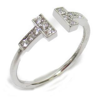 TIFFANY&CO〈ティファニー〉T-wire diamond ring ring
