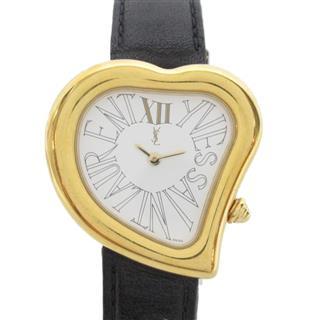 YVES SAINT LAURENT〈イブ・サンローラン〉Heart motif watch watch