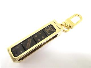 LOUIS VUITTON〈ルイヴィトン〉Brown Dice Keychain Charm Dice Limited Edition Supreme