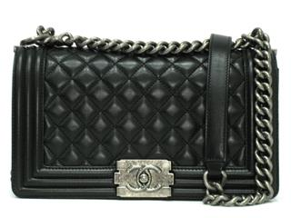 CHANEL 〈シャネル〉 Boy chanel Matelasse Chain Shoulder Bag