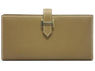 HERMES〈エルメス〉Bearn Soufflet Wallet Bi-fold