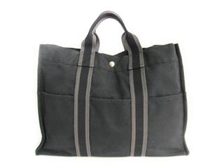HERMES 〈エルメス〉 Furtou Tote MM Handbag
