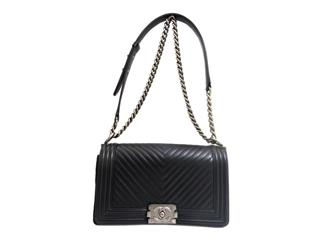 CHANEL 〈シャネル〉 Boy Chanel Chain Shoulder Bag