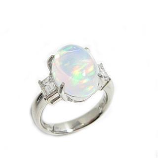 JEWELRY〈ジュエリー〉Water Opal Diamond Ring