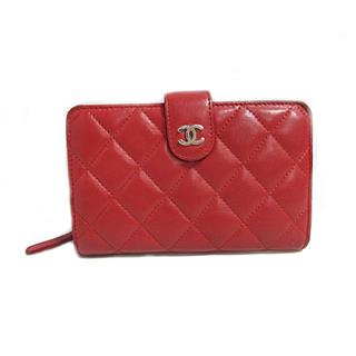 CHANEL〈シャネル〉Double fold wallet compact wallet