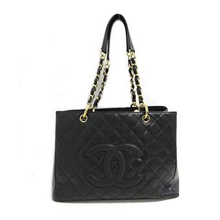 CHANEL 〈シャネル〉 GST chain tote bag